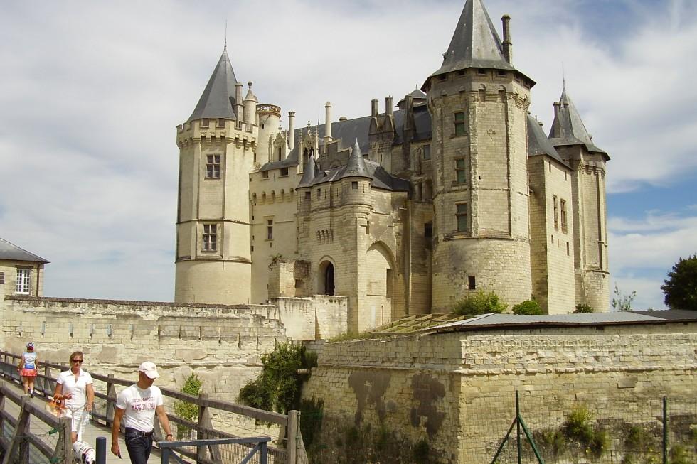 Vue extérieure du Château de Saumur