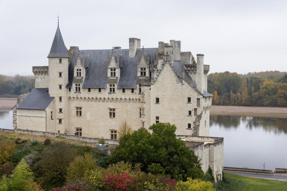 Vue extérieure du Château de Montsoreau prés de Saumur