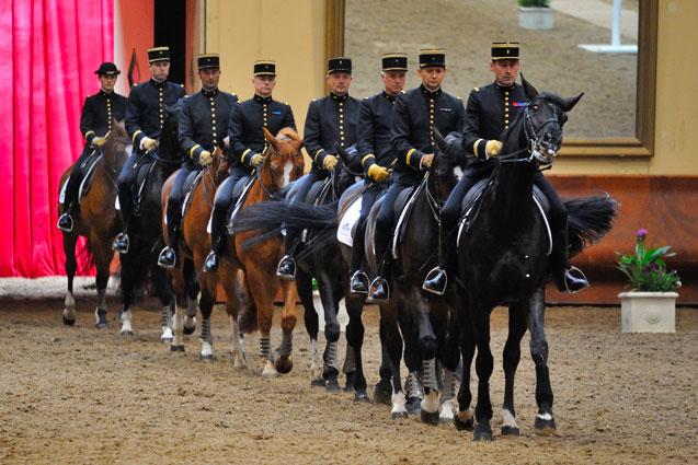 Démonstration cadre noir de Saumur